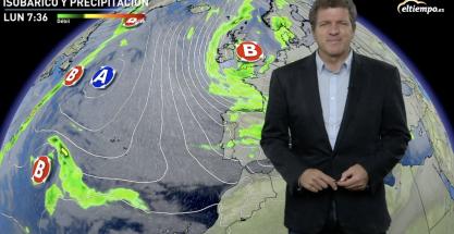 El 2020 se despide con la borrasca Bella: temporal de mar, viento y nieve