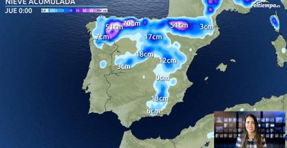 Última hora de la borrasca Bella: seguirá el viento, la lluvia, la nieve y el oleaje