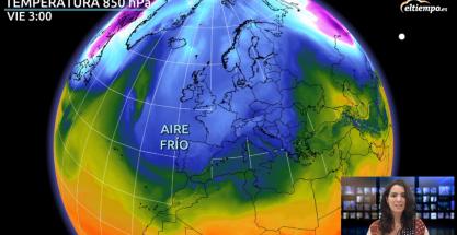 Aire polar: bajarán más las temperaturas en Año Nuevo