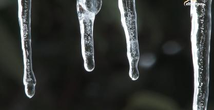 Carámbanos de hielo: cómo se forman estas agujas congeladas