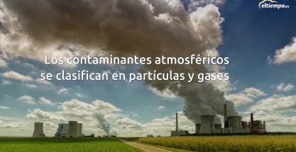 ¿Cuáles son los gases más contaminantes?