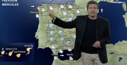 Temperaturas en aumento y lluvia en el pronóstico de esta semana