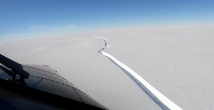 Urgente: un iceberg del tamaño de Gran Canaria se desprende de la Antártida